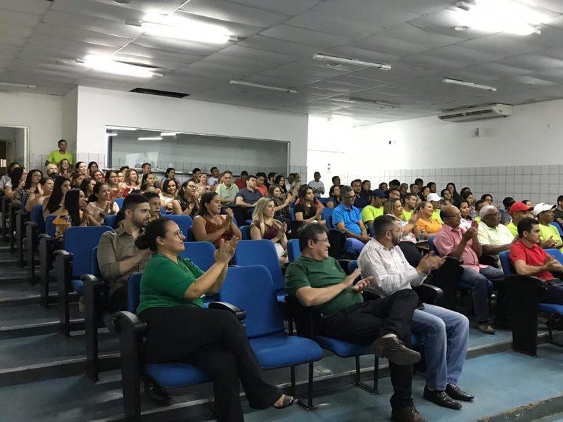 Prefeitura De Picos Saúde Realiza Palestra Motivacional Para